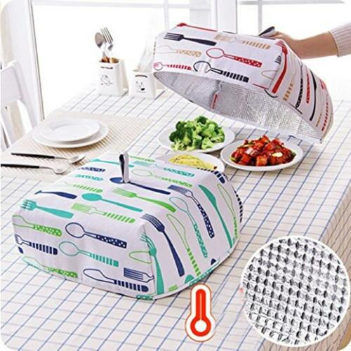 Protective Hot Cold Food BBQ Covers Insect Folding  Anti-flies Mesh Cover LT