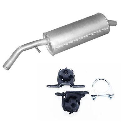Citroen C3 Pluriel 1,4 Hdi komplette Auspuffanlage Auspuff Anbausatz Rohr Kit