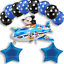 New-Disney-Mickey-Mouse-Birthday-Foil-Latex-Balloons-Plane-Party-Decorations-Boy thumbnail 8