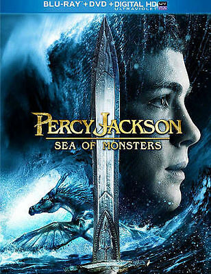 Percy Jackson: Sea of Monsters (Blu-ray Disc, 2013, 1-Disc Set) - Former Rental