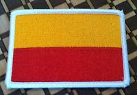 Bogota Colombia Flag Embroidered Iron-on Patch Military Emblem White Border