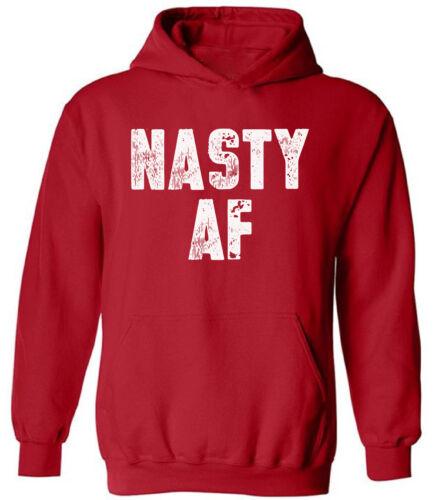 Unisex Nasty AF Hoodie Sweatshirts Anti Trump Resistance