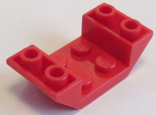 4 Stück rot # 4871 LEGO Dachstein / Slope invers 45 4 x 2 doppelt