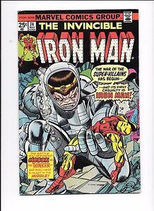 Iron-Man-74-May-1975-Modok-vs-The-Thinker-Black-Lama-appearance