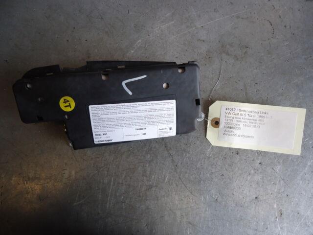 seat side airbag left N/S VW Golf IV 4 1J4880239 1.9TDI 66kW AGR 41062