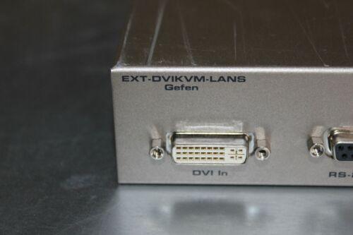 Gefen EXT-DVIKVM-LANS EXTDVIKVMLANS DVI KVM Over IP S