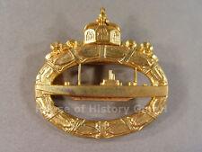 U-Boot Kriegsabzeichen 191 , massive Ausführung, Typ Maybauer, 79405