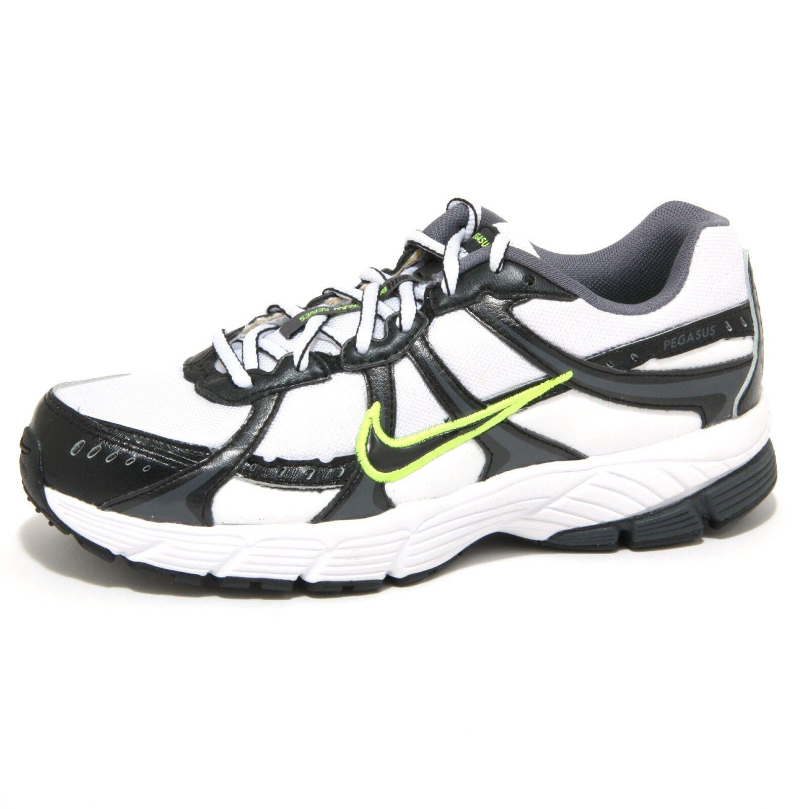 1276O sneaker NIKE AIR PEGASUS bianco/nero scarpe donna shoes women