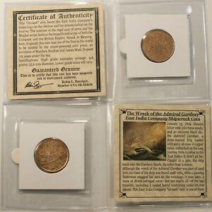 Admiral-Gardner-Shipwreck-034-10-Cash-034-Treasure-Coin-MINI-ALBUM