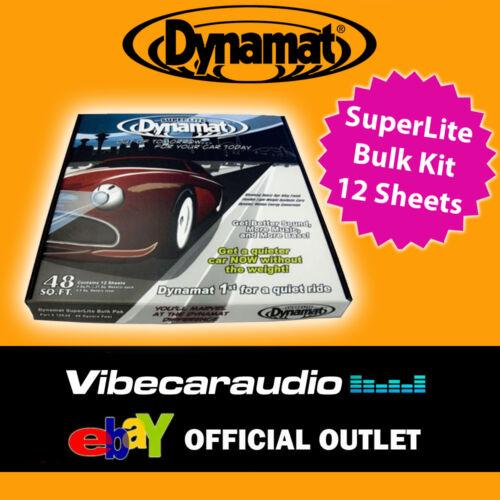 Dynamat Superlite 10648 la insonorización Kit de amortiguación amortiguamiento A Granel X 12 Hojas