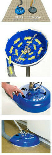 SX-15 Tile /& Grout cleaning wand Truck mounts /& portables Blue AW105 Hydro-Force