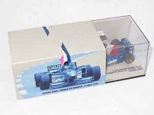 1/43 Ligier Mugen Honda Js43 Vainqueur du Monaco Gp 1996 Édition Spéciale Olivier Panis 4012138020764