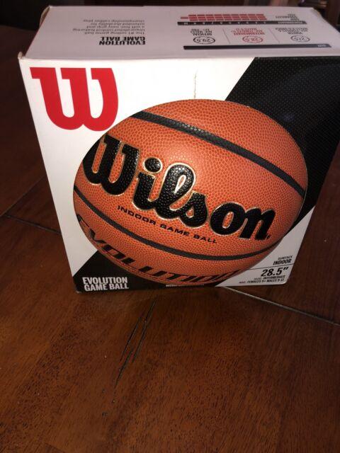 Wilson Indoor Basketball in Brown
