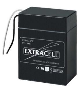 Batteria-al-piombo-ermetica-ricaricabile-6V-13Ah-cod-6449