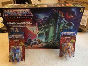 Mattel Masters Of The Universe Origins Castle Gray skull NIB 2021