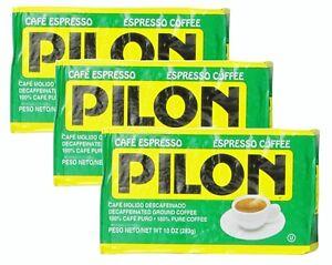 3x-Cafe-Pilon-Decaf-Espresso-Ground-Coffee-10-oz
