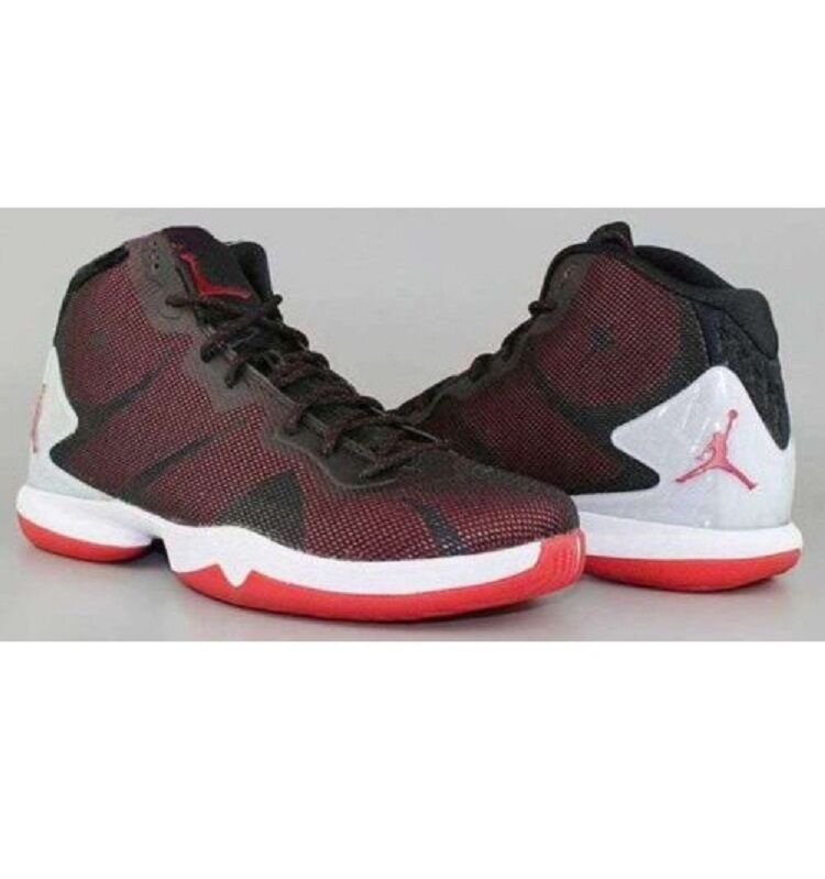 Jordan Super.Fly 4 849364 002 Black/Gym Red-White Mens7.5 Seasonal price cuts, discount benefits