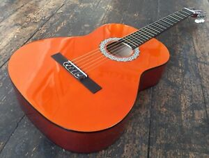 4-4-Adult-Beginner-Classical-Acoustic-Nylon-Guitar-With-Free-Picks-RRP-69-99