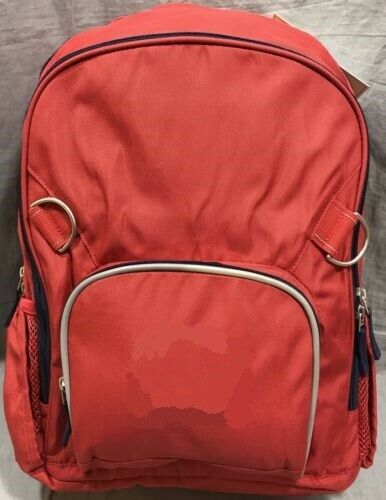 New Pottery Barn Kids Red Amp Navy Fairfax Large Backpack Ebay