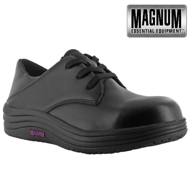 ad9773f569e WOMENS MAGNUM LIGHTWEIGHT COMPOSITE TOE CAP SAFETY LADIES TRAINER SHOES  BOOTS SZ