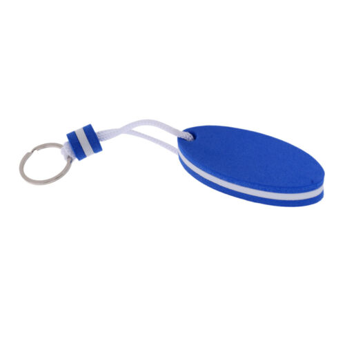 Schwimmende Schlüsselanhänger mit Schlüsselring 5 Stück Packung