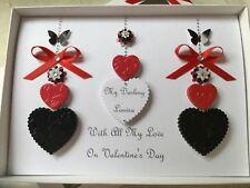 Personalised 40 ruby wedding anniversary card husband wife mum dad
