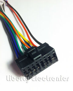 s l300 new car stereo wire harness for pioneer deh p640 deh p6400 ebay Pioneer Deh P77DH Wiring Harness at readyjetset.co