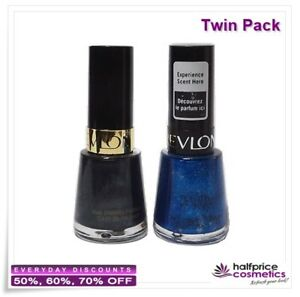 Revlon-Nail-Polish-Twin-Pack-Black-with-Envy-amp-Mint-Fizz