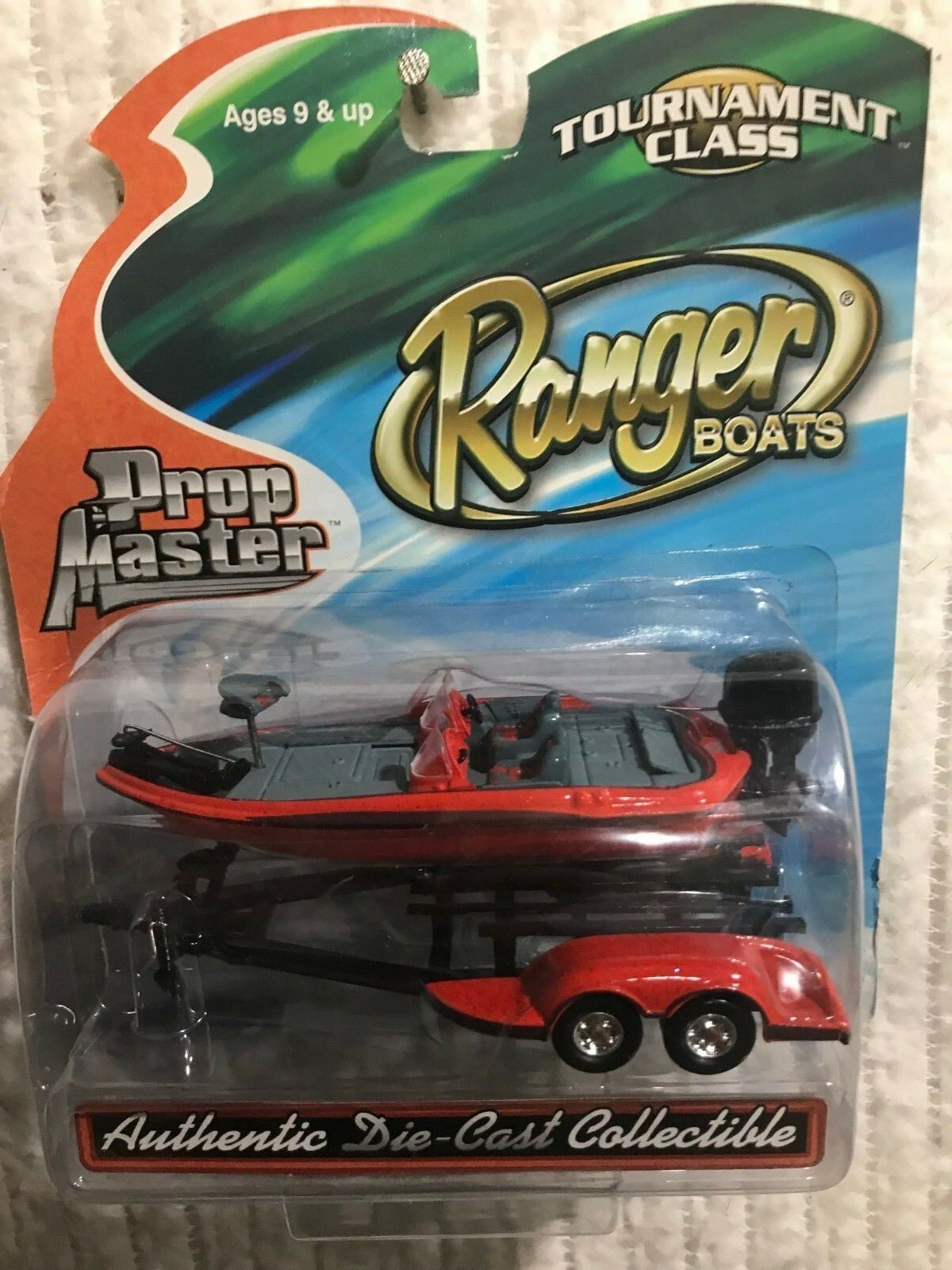 Clase de torneo Utilería Master Ranger Boats