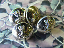 REME Army Buttons Queens Crown Small