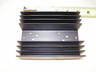 2x Thermalloy PM 90-6B Aluminum Heat Sink for dual TO-3 transistors Aavid TO3
