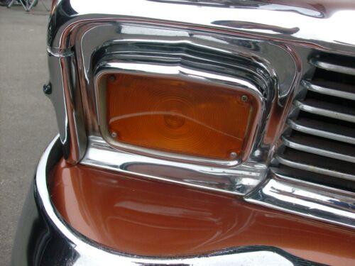 PARKING LIGHT LENS 1956 CHEVROLET CAR  AMBER 1 PAIR NEW