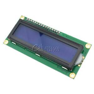 Pantalla-azul-IIC-I2C-TWI-SP-I-Serial-Interfaz-modulo-LCD-de-caracteres-1602-16X2