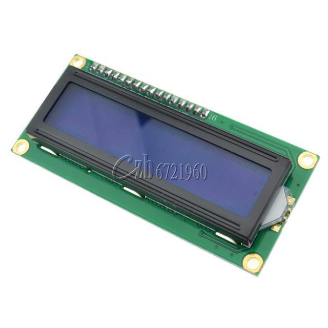 Pantalla azul IIC/I2C/TWI/SP I Serial Interfaz módulo LCD de caracteres 1602 16X2