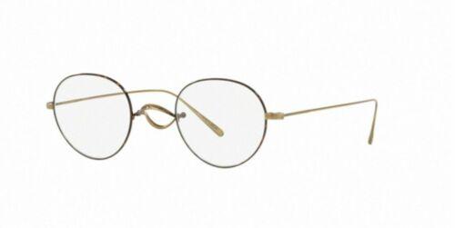 New Oliver Peoples 0OV 1241 T WHITT 5284 ANTIQUE GOLD Eyeglasses