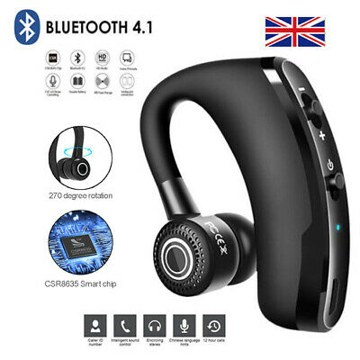 V9 Wireless Bluetooth Headset For Smartphones And All Universal Mobile Phones Uk Ebay