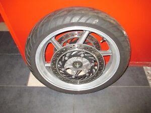 Vorderrad-Reifen-Felge-Bremsscheiben-Honda-CB-750-RC-42