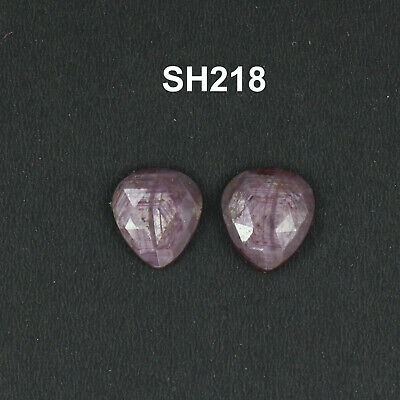 1 pics loose gemstone 4.75 cts natural faceted ruby gemstone ruby rose cut slice smooth full flashy shape pear size 8x14x4 mm