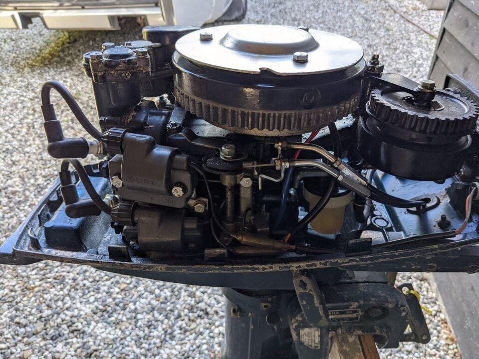 Yamaha påhængsmotor, 8 hk, benzin