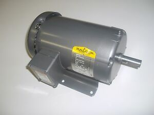 Baldor m3610 3hp ac three phase 182t frame electric motor for 300 hp ac electric motor