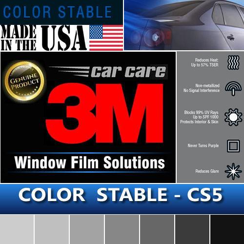"3M Color Stable 5/% VLT Automotive Car Truck Window Tint Film Roll 30/""x78/"" CS5"