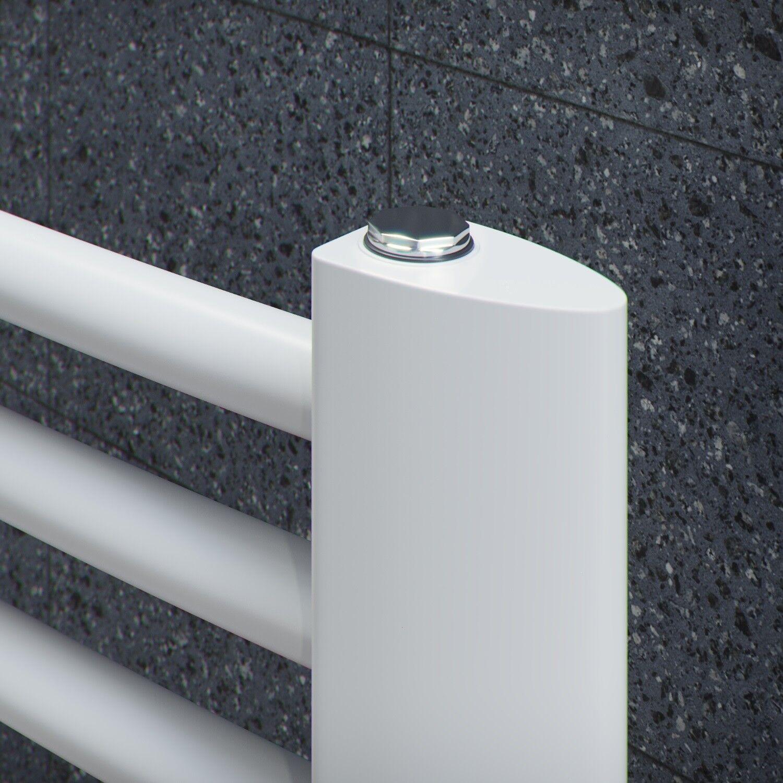 Handtuchheizkörper gebogen Badheizung Trapezprofil Weiss 1154x595 mm mm mm 576 Watt ddfd9d