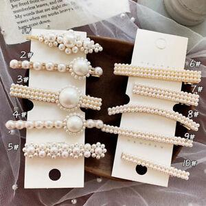 Fashion-Women-Pearl-Flower-Barrette-Hair-Clip-Stick-Hairpin-Hair-Accessories