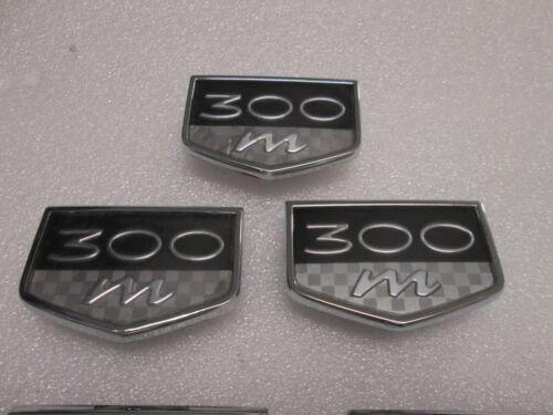 OEM 1999 2000 01 02 03 04 CHRYSLER 300M FRONT FENDER EMBLEM BADGES