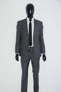 Regular Fit T-jarrod/lone Dark Grey 48 FleißIg Hugo Boss Tailored Anzug Gr Mod