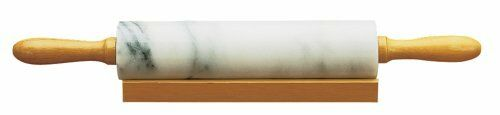 NEW Fox Run Marble Rolling Pin and Base FREE SHIPPING