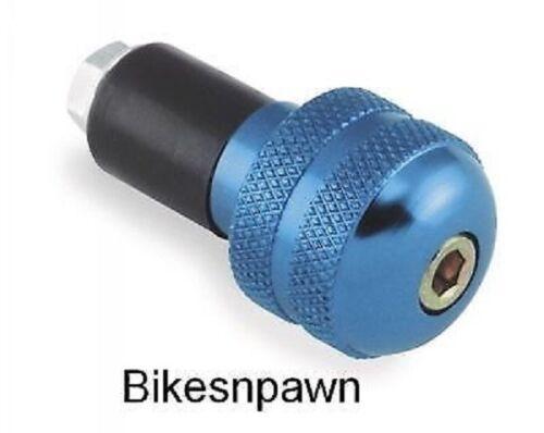 Handlebar Ends New Bikemaster  Anodized Aluminum Blue Bar Ends