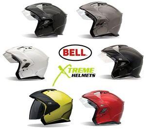 Bell-Mag-9-Helmet-Inner-Sun-Shield-Open-Face-Motorcycle-DOT-Sena-Cut-Out