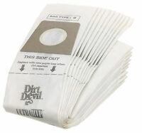 Dirt Devil Type U Vacuum Bags (20-pack), 3920048001