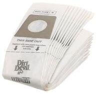 Dirt Devil Type U Vacuum Bags (20-pack), 3920048001